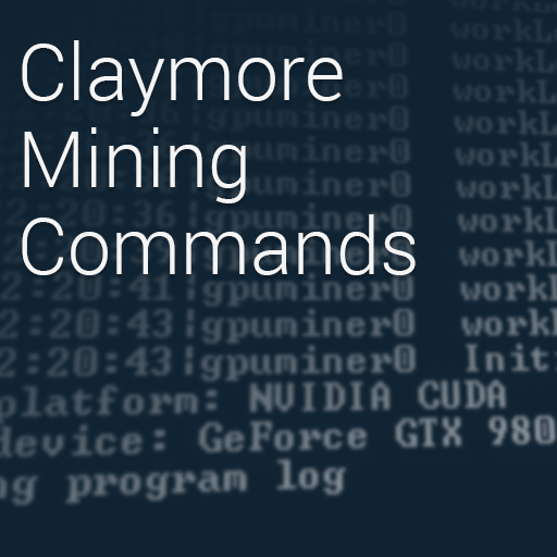 List of All Claymore's GPU Miner Commands and Parameters